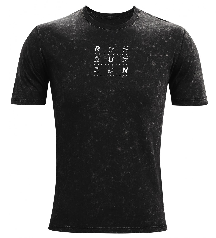 Bežecké tričko Under Armour Run Anywhere Čierna