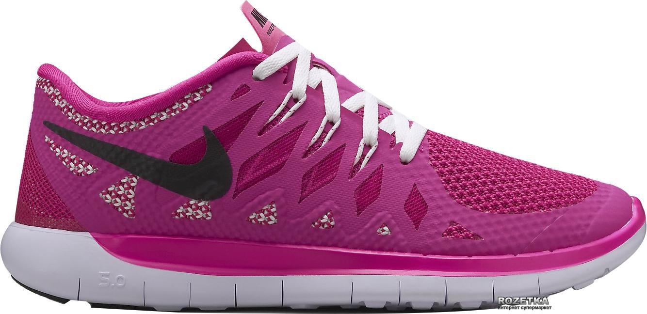 Dětske topanky Nike Free 5.0 Ružová / Čierna
