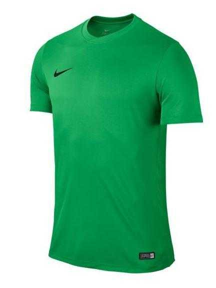 Dres Nike Park VI s krátkym rukávom Svetlozelená