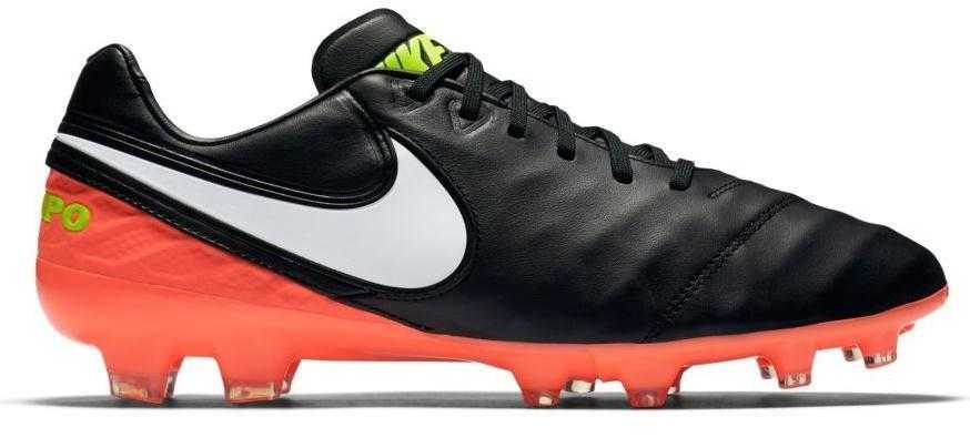 Kopačky Nike Tiempo Legacy II FG Čierna / Oranžová