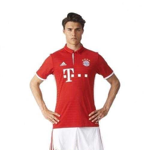 Dres Adidas FC Bayern Mnichov 2016/2017 - Domácí Červená