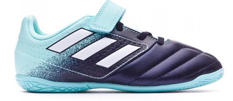 Detské halovky Adidas ACE 17.4 IN J Modrá / Čierna